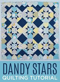 455 best Quilting Tutorials images on Pinterest | Quilt patterns ... & Make a Dandy Stars Quilt with Jenny Doan of Missouri Star Quilt Company!  Free Video Adamdwight.com