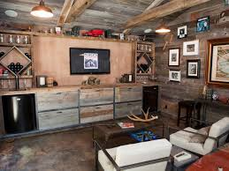 Basement Bar Ideas And Designs Pictures Options  Tips HGTV - Unfinished basement man cave ideas