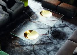 Gallotti & radice golden moon coffee table gallotti & radice
