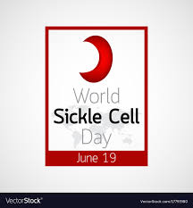 Sickle Cell Logo Design World Sickle Cell Day Icon