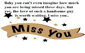 i miss you eessages for