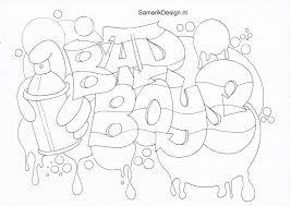 25 Printen Love Graffiti Kleurplaat Mandala Kleurplaat Voor Kinderen