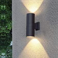 Đèn hắt tường 2 đầu trụ tròn ngoài trời (Ø90 x H260) - Đèn LED SCT