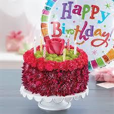 1 800 Flowers Birthday Wishes Flower Cake Purple In Bloom
