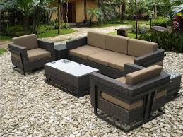 Black Outdoor Patio Furniture Sets Stylish Contemporary Outdoor
