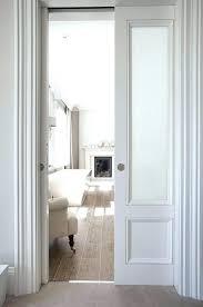 frosted pocket door glass sliding doors uk in beveled traditional bathroom doo