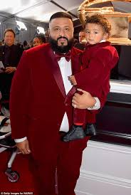 matchy matchy dj khaled and his one year old son asahd put on