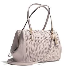 Lyst - Coach Madison Madeline Eastwest Satchel in Gathered Twist ...