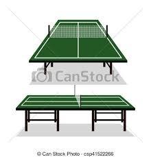 ping pong table clip art. Modren Ping Ping Pong Table Icon  Csp41522266 On Ping Pong Table Clip Art P