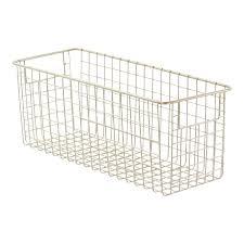 metal wire storage baskets  bins  storables