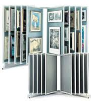 Multiple Poster Display Stands Multi Panel Poster Displays and Art Displays at Displays100Sale 1