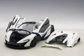 mclaren p1 matte white. autoart 118 mclaren p1 in matt white w blue accents diecast model car mclaren matte