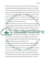 Definition Of Love Essay Example Topics And Well Written