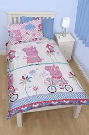 picture of peppa pig tweet reversible duvet cover set