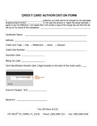 Credit Consent Form Credit Card Auth Zlatan Fontanacountryinn Com