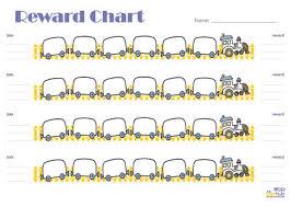 Reward Chart Trains Printable Bub Hub
