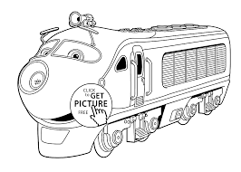 Small Picture Chuggington coloring pages Koko for kids printable free coloing