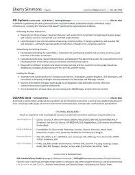 Resume Writing Format Classy Write Resume Template Example Of Resume High School Student
