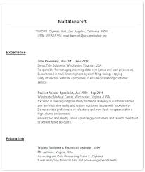 Job Resume Maker Mazard Info