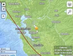 Did You Feel Todays Earthquake Near Danville And San Ramon