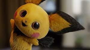Pichu Pokemon: Detective Pikachu 4K ...