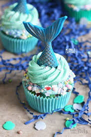 cupcakes. Simple Cupcakes Mermaid Cupcakes  Bake To The Roots In A