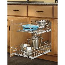 fabulous pull out kitchen shelves 21 cabinet pantry cupboard basket table