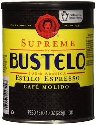 When you're just dipping your toes into the instant coffee arena, several different brands have been in the business a long time and café bustelo is one of them! Supreme Bustelo Espresso Ground Coffee Caffeine Can 10 Oz 0074471017152 Gourmet Food Grocery Gourmet Food Amazon Com