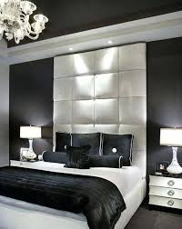 White room black furniture Decorating Black Bedroom Design Contemporary Bedroom With Black Walls And White Bed Frame And Tufted Headboard Interior Dotrocksco Black Bedroom Design Contemporary Bedroom With Black Walls And White