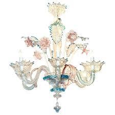 teal glass chandelier blue chandelier lovely antique blue and pink glass chandelier 1 chandeliers on
