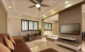 HDB 4 room Renovation - living room