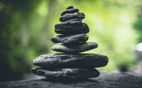 Rocks, Dark, Zen, Meditation, Balance ...