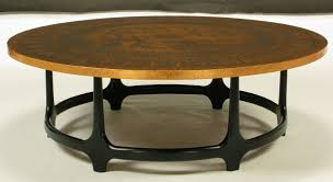 antique round copper coffee table round copper leaf relief and ebonized walnut coffee table copper top tables for