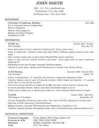 Resume Templates Latex Commily Com