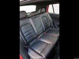 2016 volkswagen golf gti mk7 us spec leather interior rear seats wallpaper 1600 x 1200