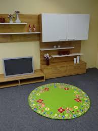 Kinderteppich Blumenwiese 130 cm rund: Amazon.de: Küche & Haushalt