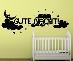 Wandtattoo Gute Nacht Wand Spruch Aufkleber Schlafzimmer