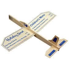 promotional 9 balsa wooden toy airplane glider