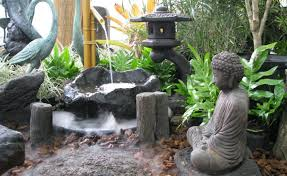 Zen garden furniture Mini Houz Buzz Japanese Style Garden Furniture Brings Harmony Into Your Life