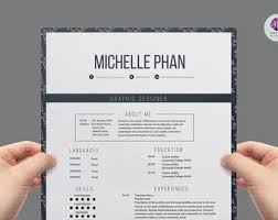 Elegant CV template , cover letter & reference letter templates (1 page  resume )/