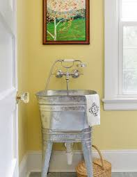 galvanized bathroom sink. galvanized tub sink in laundry room farmhouse with washtub traditional kitchen faucets bathroom