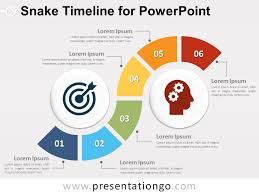 timrline snake timeline diagram for powerpoint presentationgo com