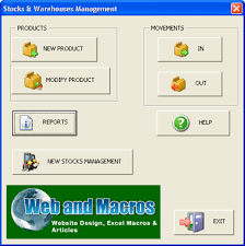 Excel Stocks And Warehouses Stocks Excel Spreadsheet
