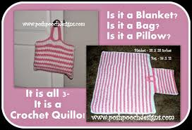 Quillow Pattern Custom Posh Pooch Designs Dog Clothes Crochet Quillo Its A Blanket It's