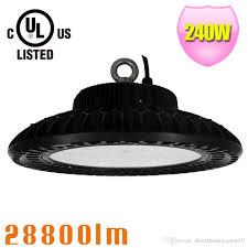 240w ufo led high bay light round led warehouse lamp ip65 led lighting fixtures 120 degree smd3030 chip 240w ufo led high bay light round led
