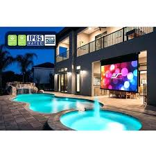 outdoor tv projector outdoor projector screen outdoor tv vs projector