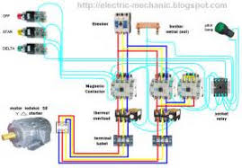 star delta starter induction motor circuit diagram images motor manual starter wiring diagram 3 phase star delta motor