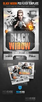 flyer templates party flyers psd flyers flyer templates black widow halloween party flyer template