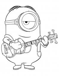 Coloring pages minions free to print. Minions Free Printable Coloring Pages For Kids