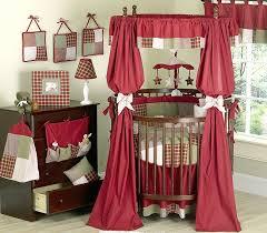 casey s cabin designer western cowboy baby 9 piece round crib set exclusive bedding